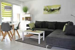 Ferienwohnung Deichkrone Wohnzimmer