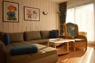 Ferienwohnung Hübscher Wohnzimmer