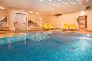 Viktoria Ferienhaus Schwimmbad im Wellnessbereich