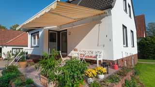 Gästehaus Mahn Eine gemütliche Terrasse lädt zum Verweilen ein.