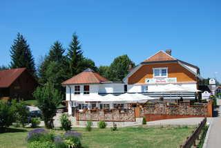 Landgasthof zum Dorfkrug Gut und zentral gelegen