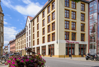 Mercure Hotel Erfurt Altstadt Hausansicht