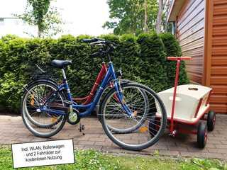 Zempin Ostseepark WE 32 **Insel Usedom**150m zum Strand** inkl. 2 Leihfahrräder, Bollerwagen & WLAN