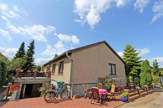 Ferienwohnung Malchow SEE 8241 Außenansicht Wohnhaus mit Ferienwohnung