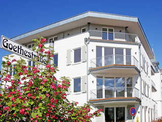 Strandhaus Seeblick F627 WG 16 mit spektakulärem Meerblick Strandhaus Seeblick im Ostseebad Binz