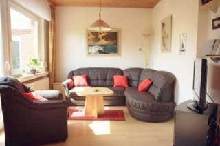 Ferienhaus Krüger Wohnbereich