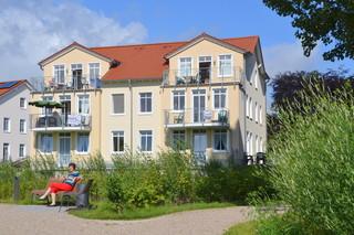Ferienwohnungen Villa Am Sonnenstrand Blick vom Schloonseepark