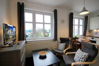 Ferienwohnung 221RB5 Möwe, Haus Felicitas Wohnbereich