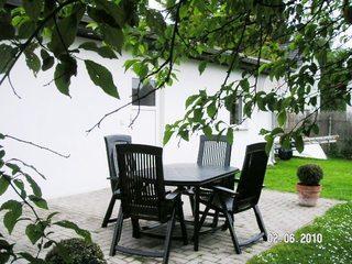 Ferienhaus Charlottchen/WEIG Terrasse