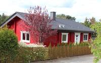 Schwedenhaus am Senftenberger See Straßenansicht
