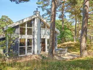 Strandpark Baabe F570 strandnahes Haus 247 mit Terrasse Das Ferienhaus 247 im Strandpark Baabe im Ostse...