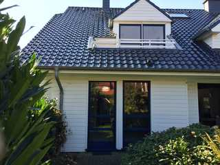 Kleine Wohnung mit Terrasse Blick von der Terrasse