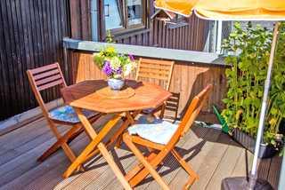 Ferienwohnungen Friedrichroda THU 090 Balkon zur großen Ferienwohnung