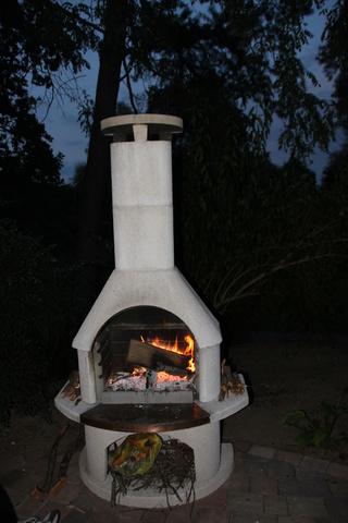 Grillen oder Lagerfeuer